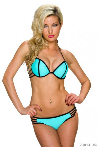 Cat Eyes Blue Swimsuit