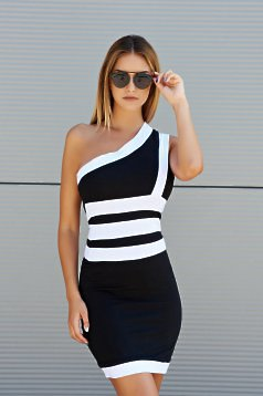 Ocassion Sportie Lady Black Dress