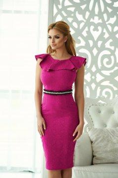 StarShinerS Distinctive Look Purple Dress