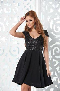 StarShinerS Sparkle Charms Black Dress