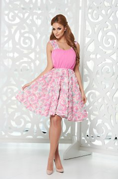 StarShinerS Princess Rose Rosa Dress