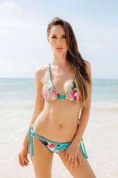 Cosita Linda Exotic Destination Blue Swimsuit