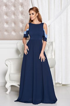 StarShinerS Attractive Look DarkBlue Dress