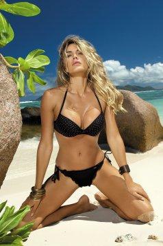 Equatorial Black Swimsuit