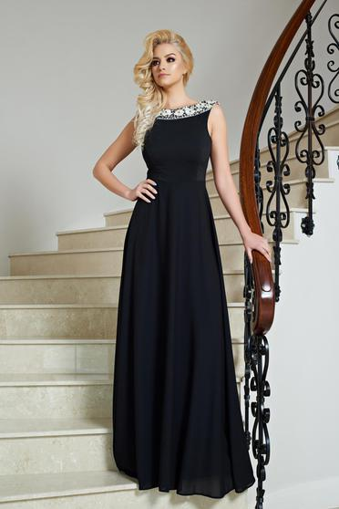 StarShinerS Noble Look Black Dress