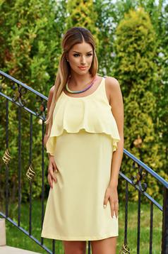 StarShinerS Hot Flame Yellow Dress