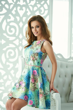 StarShinerS Top Look Green Dress