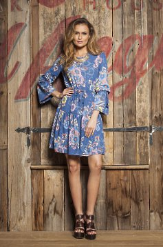 PrettyGirl Daily Charm Blue Dress