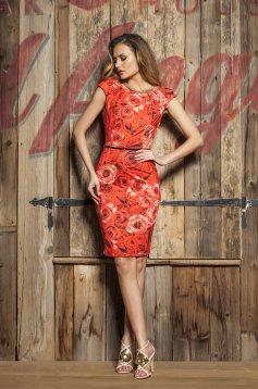 PrettyGirl Blossom Lady Red Dress