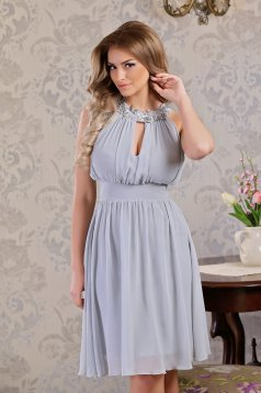 LaDonna Magnificent Lady Grey Dress