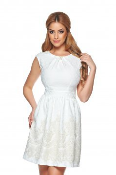 Fofy Smart Manager White Dress