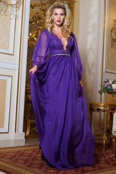 Artista Dignity Purple Dress