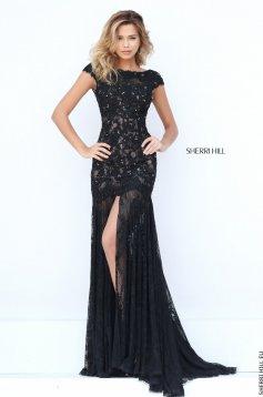 Sherri Hill 50023 Black Dress