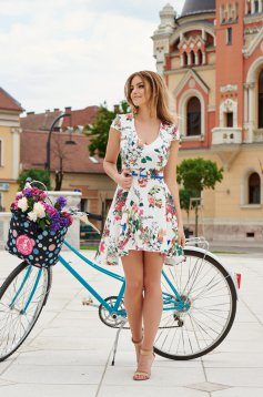 StarShinerS Flower Show White Dress