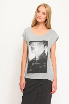 Top Secret S019845 LightGrey T-Shirt