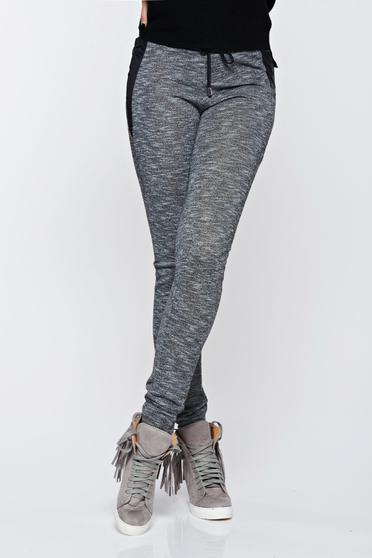 Top Secret grey trousers casual with medium waist