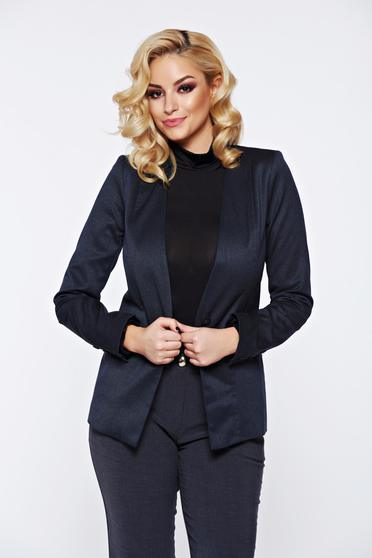 Top Secret grey jacket basic with padded shoulders with inside lining