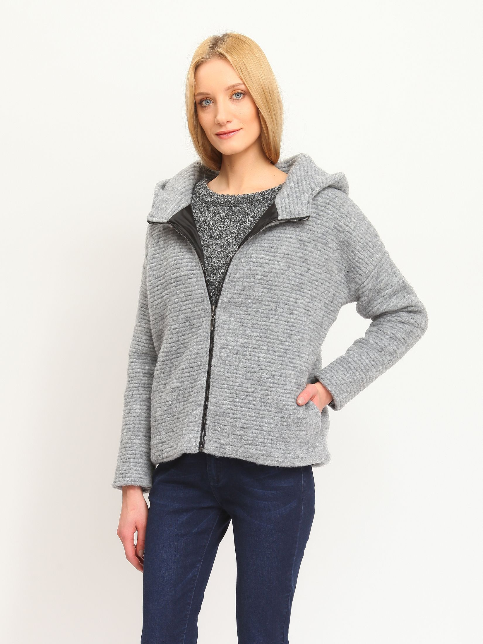 Geaca Top Secret S020395 Grey