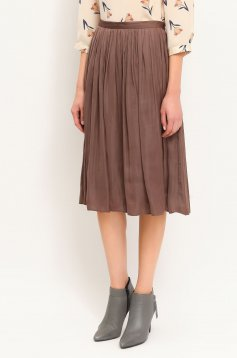 Top Secret S020494 Brown Skirt