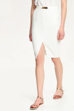 Top Secret TSD0476 White Skirt
