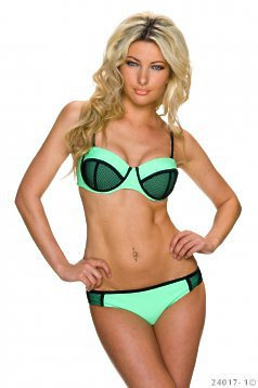 Disclosure Green Swimsuit