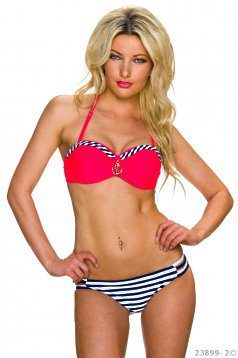 Summer Look Coral Swimsuit