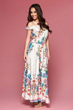MissQ Beautiful Lady Cream Dress