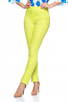 Fofy Qualify Yellow Trousers