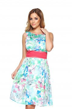 LaDonna Flower Delicacy Green Dress