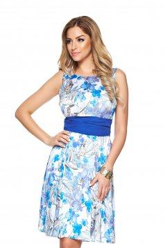LaDonna Flower Delicacy Blue Dress