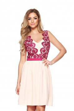 LaDonna Prettiness Peach Dress