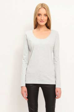 Top Secret SPL0293 LightGrey Blouse