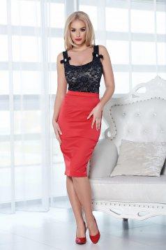 Fofy Classy Temptation Red Skirt