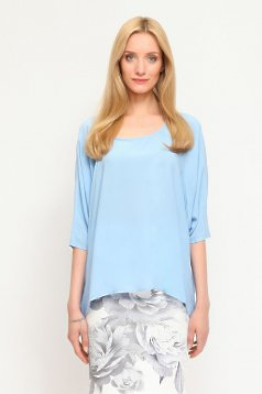 Top Secret SBK2091 Blue Blouse