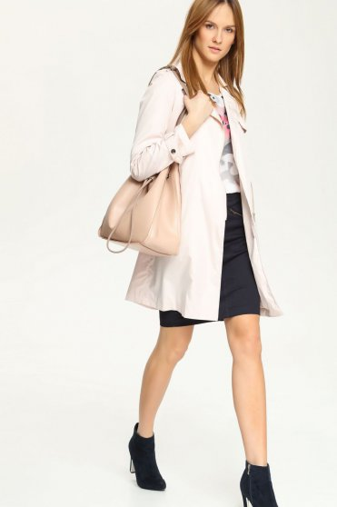 Top Secret S021609 Pink Trenchcoat