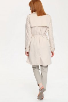 Top Secret S021610 Peach Trenchcoat