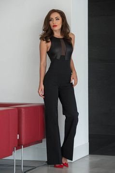 PrettyGirl Remarcable Look Black Jumpsuit