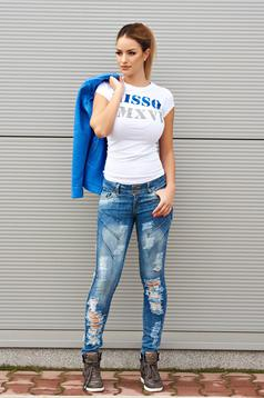 Fashionable Blue Jeans