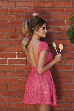 StarShinerS Sugar Babe Style Coral Dress