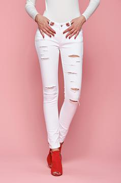 Top Secret Ageless White Jeans