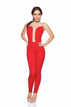 Daniella Cristea Sensuality Red Jumpsuit