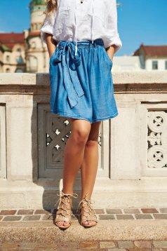 Top Secret gold sandals ribbon fastening low heel