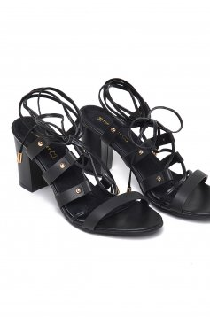 Top Secret Street Fashion Black Sandals