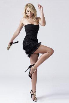 Daniella Cristea Famous Party Black Dress