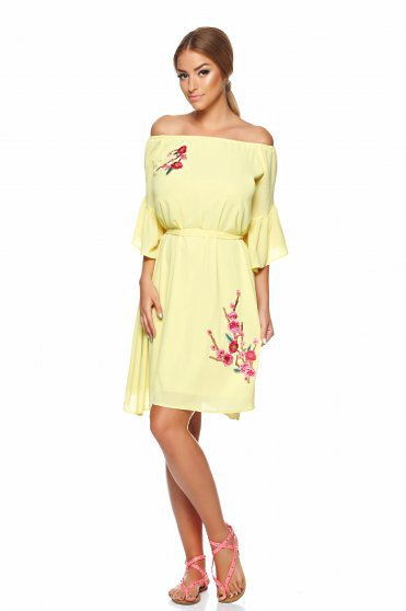 LaDonna Casual Summer Yellow Dress