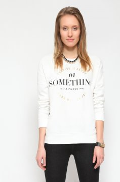 Top Secret S022425 White Blouse
