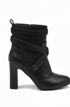 Top Secret S022435 Black Ankle Boots