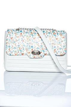 Bellissima White Leather Bag
