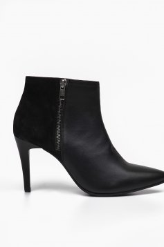 Top Secret S022455 Black Ankle Boots