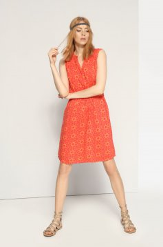 Top Secret SSU1621 Orange Dress